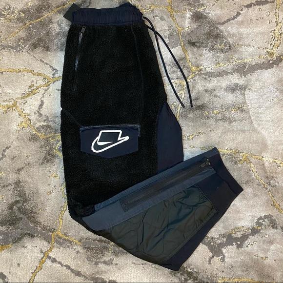 Nike Sportswear NSW Sherpa Jogger Pant Mens L Blk